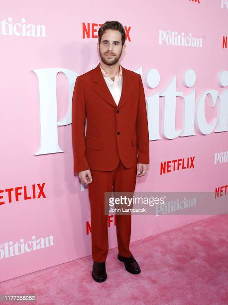 "Ben Platt attends ""The Politician"" New York Premiere at DGA Theater on September 26, 2019 in New York City."