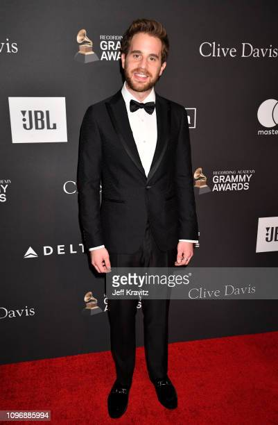 Ben Platt attends The Recording Academy And Clive Davis' 2019 PreGRAMMY Gala at The Beverly Hilton Hotel on February 9 2019 in Beverly Hills...