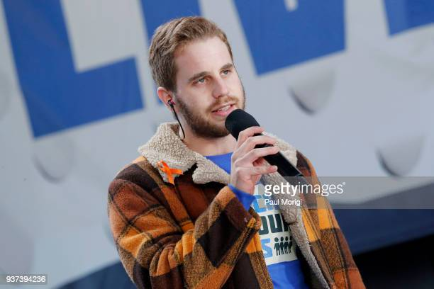 Ben Platt performs onstage at March For Our Lives on March 24 2018 in Washington DC