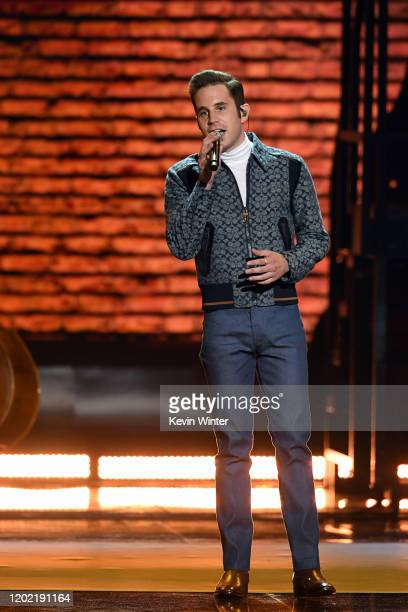 Ben Platt performs onstage during the 62nd Annual GRAMMY Awards at STAPLES Center on January 26 2020 in Los Angeles California