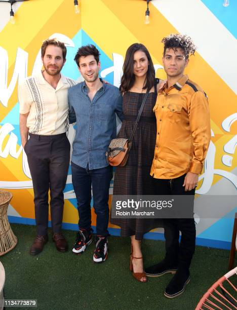 Ben Platt Ricky Tollman Nina Dobrev and Mena Massoud at #TwitterHouse during the SXSW Conference and Festival on March 09 2019 in Austin Texas
