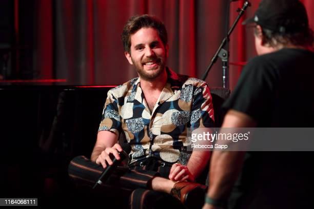 Ben Platt speaks with David Wild at The Drop: Ben Platt at the GRAMMY Museum on July 24, 2019 in Los Angeles, California.