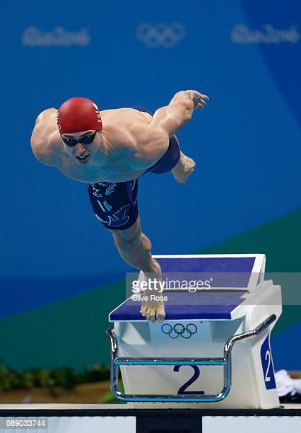 Ben Proud of Great Britain competes in the Men's 50m Freestyle Final on Day 7 of the Rio 2016 Olympic Games at the Olympic Aquatics Stadium on August...