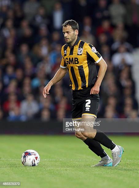 Ben Purkiss of Port Vale during the Capital One Cup Second Round match between West Bromwich Albion and Port Vale at The Hawthorns on August 25 2015...
