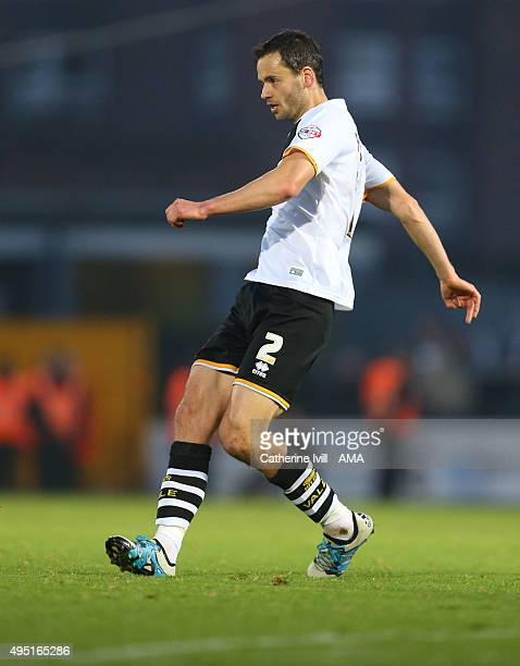 Ben Purkiss of Port Vale during the Sky Bet League One match between Port Vale and Shrewsbury Town at Vale Park on October 31 2015 in Burslem England
