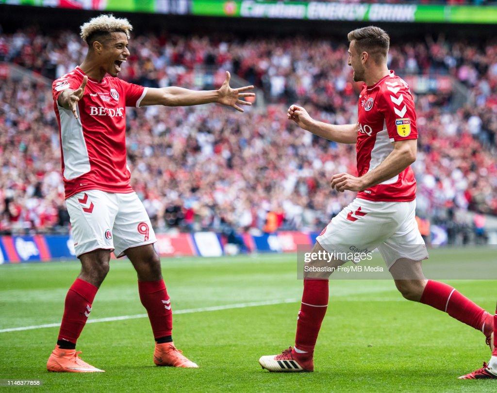 Charlton Athletic v Sunderland - Sky Bet League One Play-off Final : News Photo