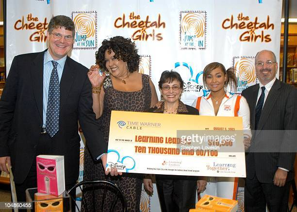 Ben Pyne Senior VP Affiliate Sales and marketing ABC Cable Networks Group Deborah Gregory President of Learning Leaders Digna Sanchez RavenSymone and...