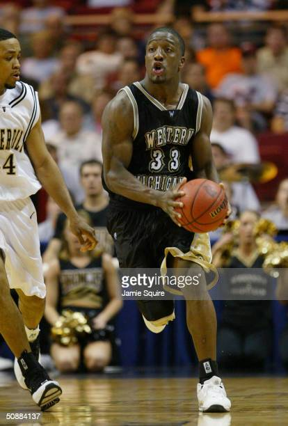 Ben Reed of the Western Michigan Broncos moves the ball against the Vanderbilt University Commodores during the first round game of the NCAA Division...