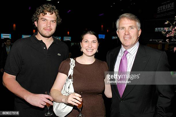 Ben Reiter Alice Goldman and Jack Ford attend KATIE COURIC 300 NEW YORK bowl to 'STRIKE OUT COLON CANCER' benefiting EIF's NCCRA at 300 New York on...
