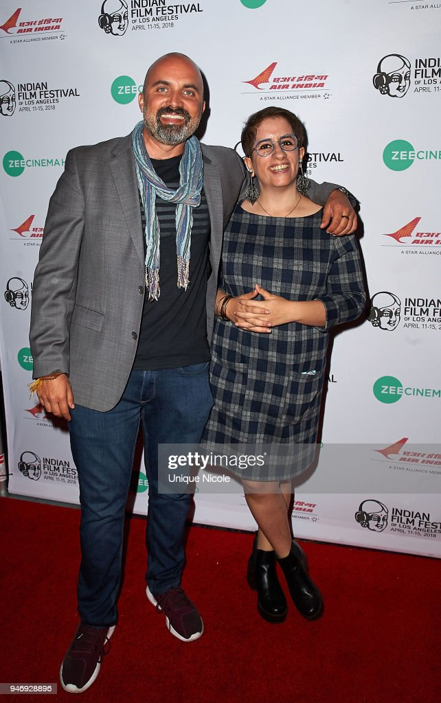 Ben Rekhi and Producer Guneet Monga attends Closing Night Red Carpet 16th Annual Indian Film Festival Of Los Angeles at Regal Cinemas L.A. Live on April 15, 2018 in Los Angeles, California.