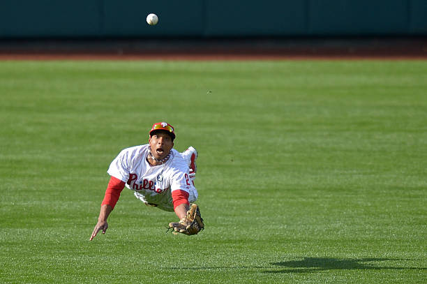 Ben Revere of the Philadelphia Phillies