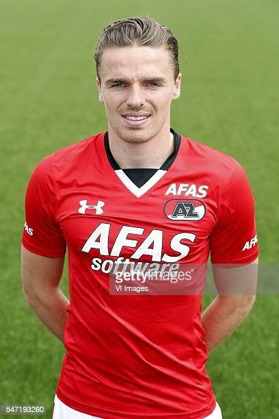 Ben Rienstra during the team presentation of AZ Alkmaar on July 13 2016 at Afas Stadium in Alkmaar The Netherlands