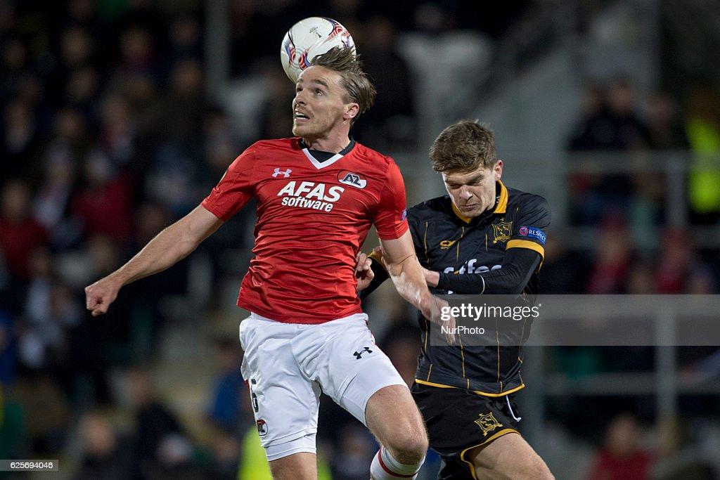 Dundalk FC vs AZ Alkmaar - UEFA Europa League