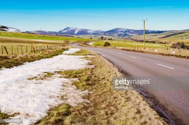 ベン・リンネス(スコットランド、モレイシャー) - モーレイ湾 ストックフォトと画像