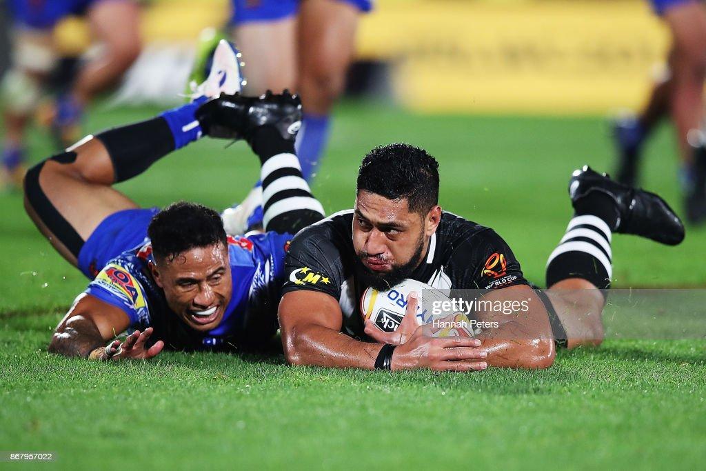 New Zealand v Samoa - 2017 Rugby League World Cup : News Photo