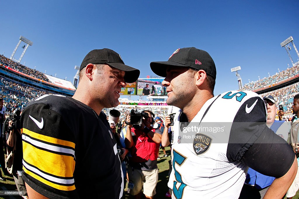Image result for blake bortles ben roethlisberger