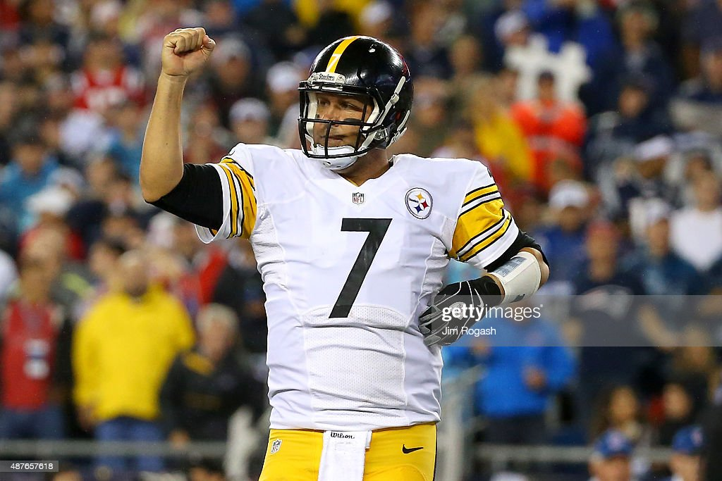 Pittsburgh Steelers v New England Patriots : News Photo