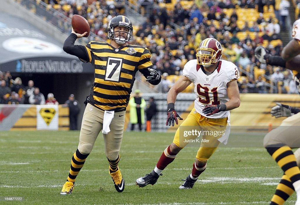 Washington Redskins v Pittsburgh Steelers : News Photo