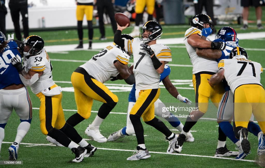 Pittsburgh Steelers v New York Giants : Photo d'actualité