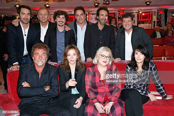 Ben Roland Giraud Arnaud Tsamere Eric Carriere Mathieu Madenian Francis Ginibre Main Guest of the Show actor Olivier Marchal Sylvie Testud Josiane...