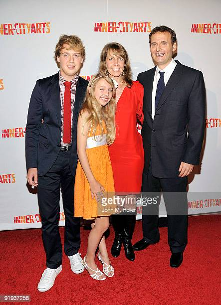 Ben Rosenthal Lily Rosenthal Monica Rosenthal and producer Philip Rosenthal attend the 2009 20th Anniversary Imagine Gala to honor the Everybody...