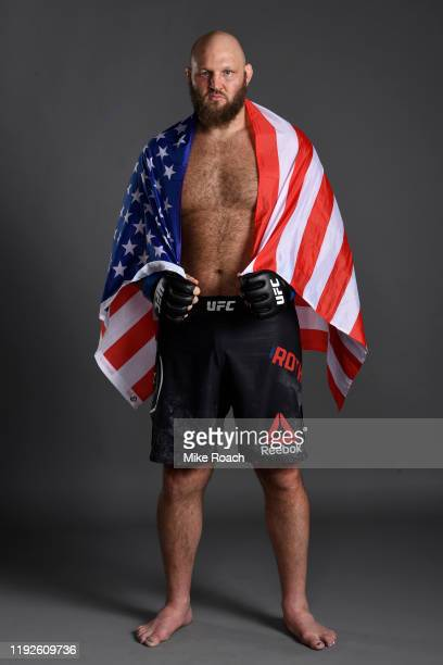 Ben Rothwell poses for a portrait backstage during the UFC Fight Night event at Capital One Arena on December 07 2019 in Washington DC