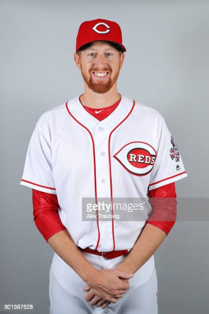 Ben Rowen of the Cincinnati Reds poses during Photo Day on Tuesday February 20 2018 at Goodyear Ballpark in Goodyear Arizona