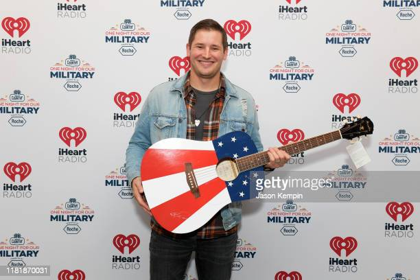 Ben Rue backstage at the iHeartCountryOneNightForOurMilitary Presented by Rocheat the Country Music Hall of Fame on November 07 2019 in...