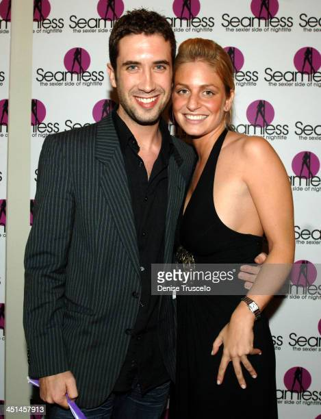 Ben Russo and Jen Garcia during Seamless Adult Ultra Lounge Grand Opening at Seamless Adult Ultra Lounge in Las Vegas, Nevada.