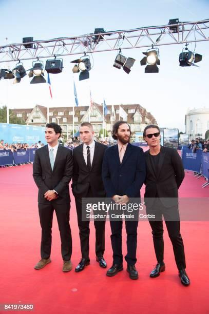 Ben Safdie Robert Pattinson Joshua Safdie and Oscar Boyson arrive for the Achievement Tribute Award Ceremony to Robert Pattinson and 'Good Time'...
