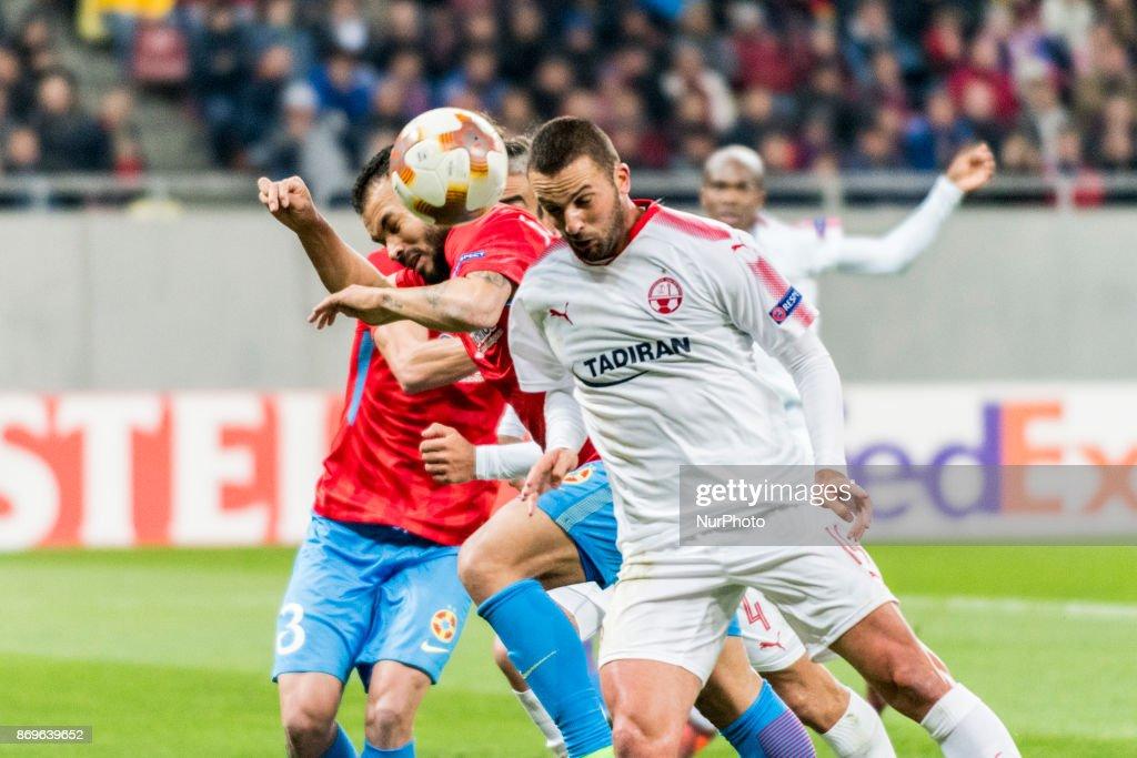 Steaua Bucuresti v Hapoel Be'er Sheva - UEFA Europa League