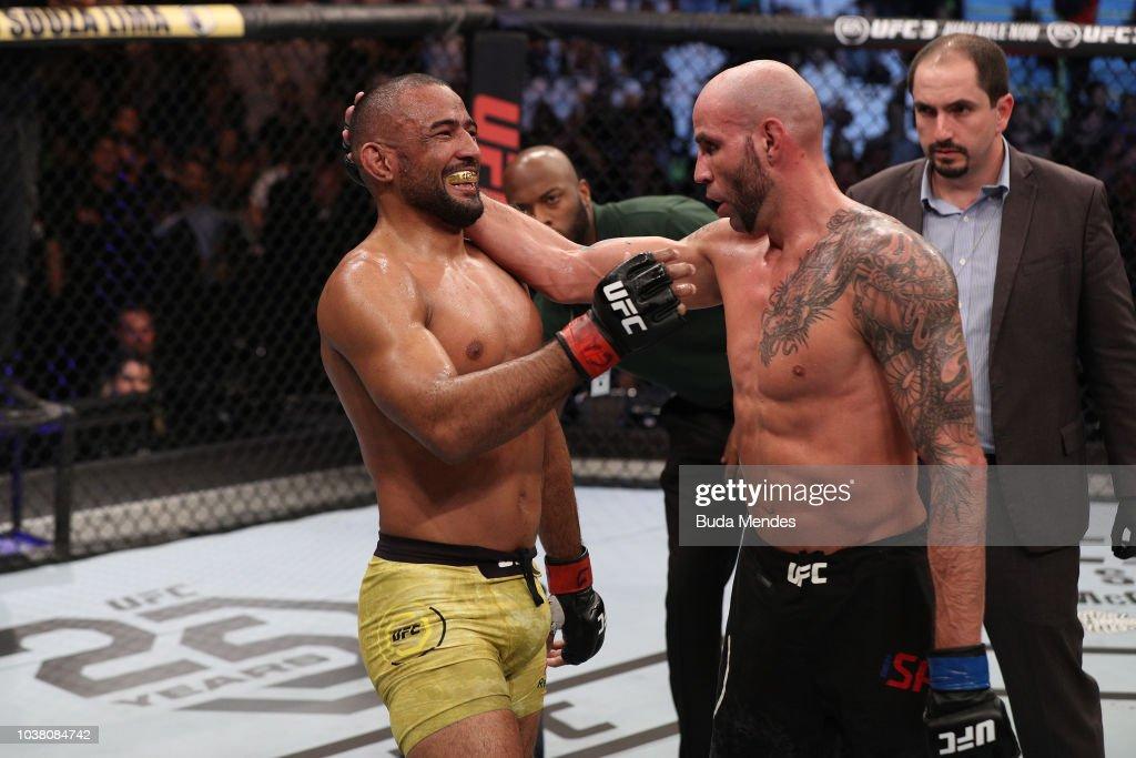 UFC Fight Night: Moraes v Saunders : News Photo