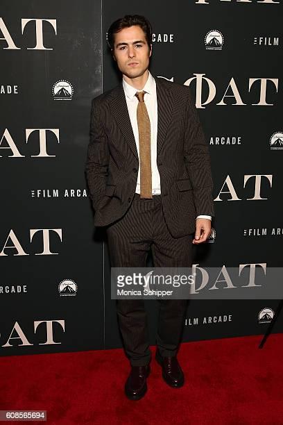 Ben Schnetzer attends the Goat New York Premiere at Landmark's Sunshine Cinema on September 19 2016 in New York City