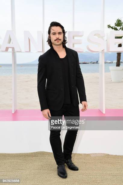 Ben Schnetzer attends The Truth About the Harry Quebert Affair Photocall during the 1st Cannes International Series Festival on April 7 2018 in...
