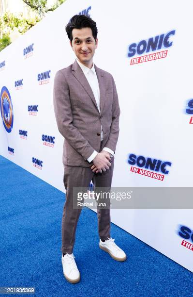 Ben Schwartz attends Sonic The Hedgehog Family Day Event at the Paramount Theatre on January 25 2020 in Hollywood California