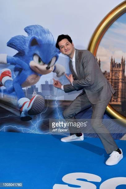 Ben Schwartz attends the Sonic the Hedgehog London Fan Screening at Vue Westfield on January 30 2020 in London United Kingdom