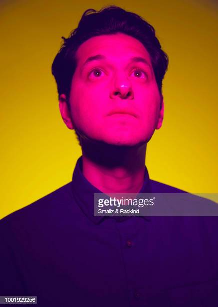 Ben Schwartz from the show 'Rise of the Teenage Mutant Ninja Turtles' poses for a portrait in the Getty Images Portrait Studio powered by Pizza Hut...