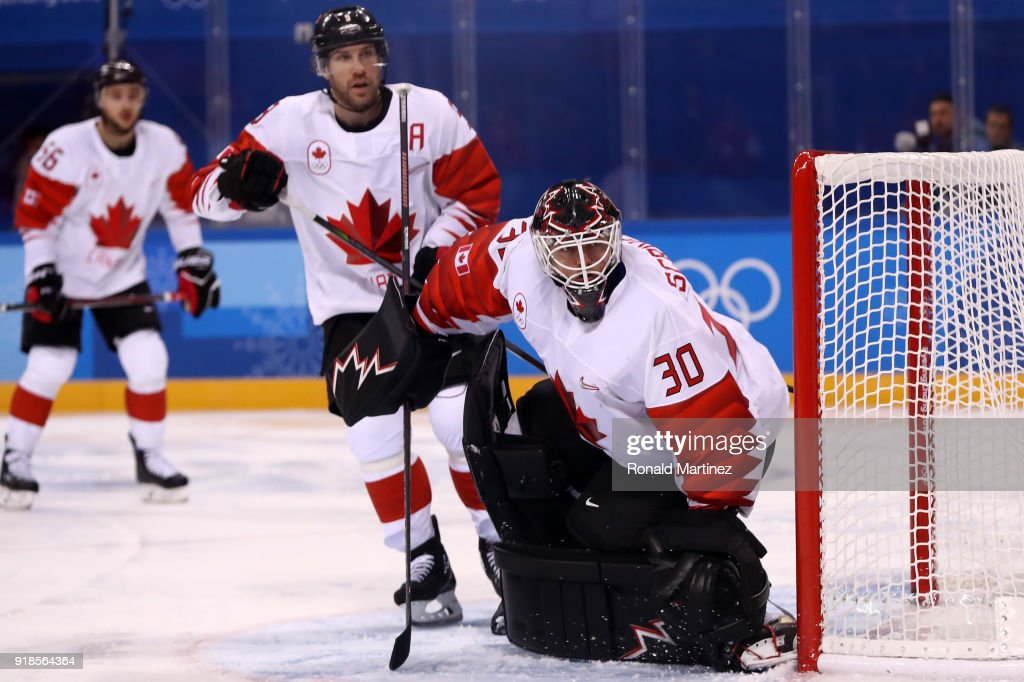 Ice Hockey - Winter Olympics Day 6 - Switzerland v Canada : News Photo