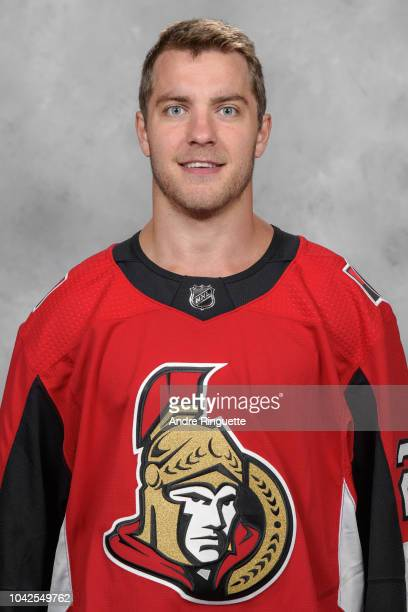 Ben Sexton of the Ottawa Senators poses for his official headshot for the 20182019 season on September 13 2018 at Canadian Tire Centre in Ottawa...
