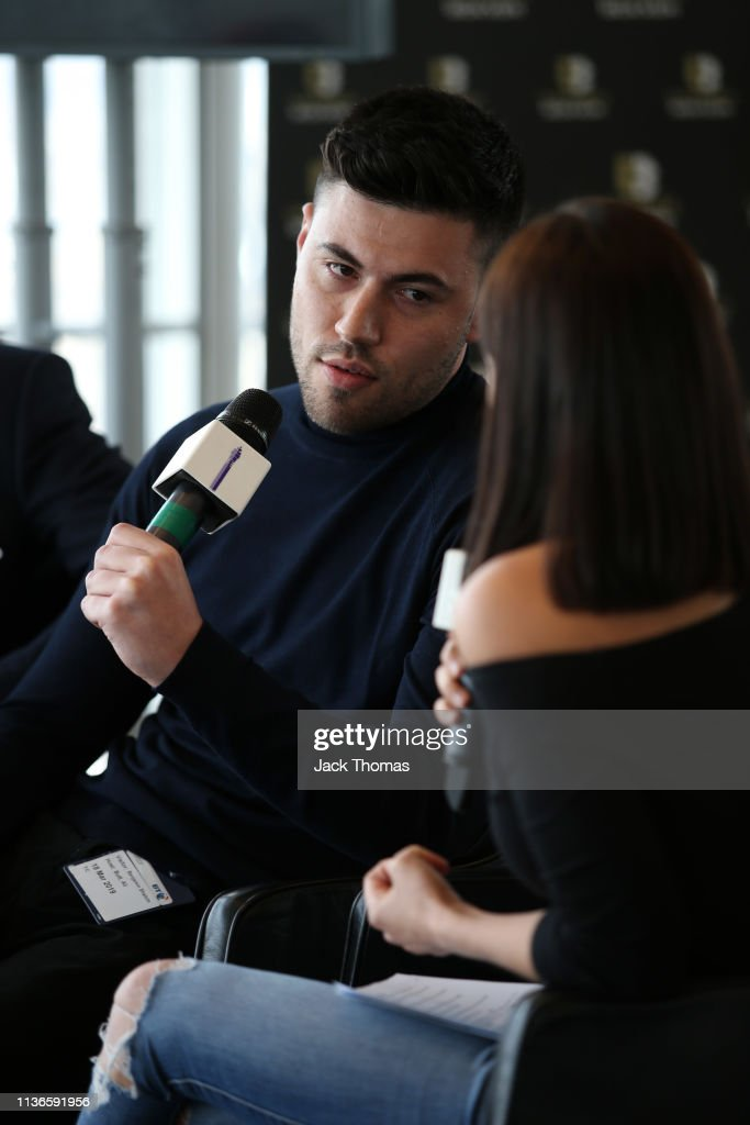 GBR: BT Sport Boxing and Ultimate Boxxer Press Conference
