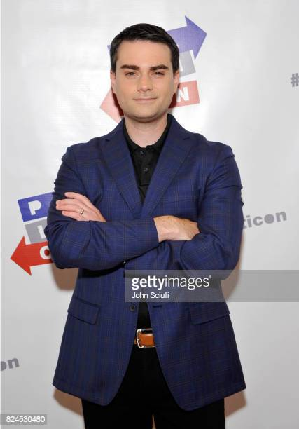 Ben Shapiro at Politicon at Pasadena Convention Center on July 30 2017 in Pasadena California