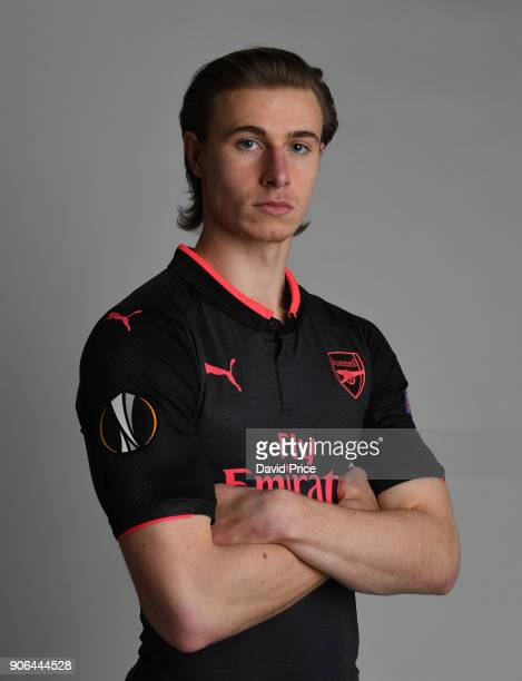 Ben Sheaf of Arsenal during an Arsenal Magazine Photoshoot at London Colney on January 8 2018 in St Albans England