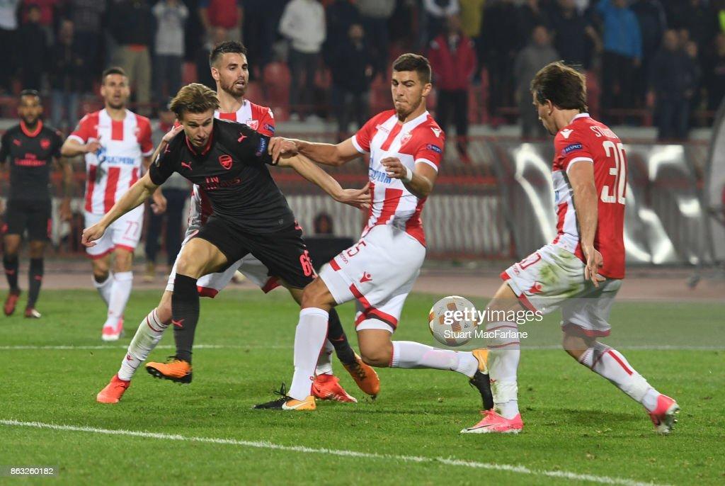 Crvena Zvezda v Arsenal FC - UEFA Europa League
