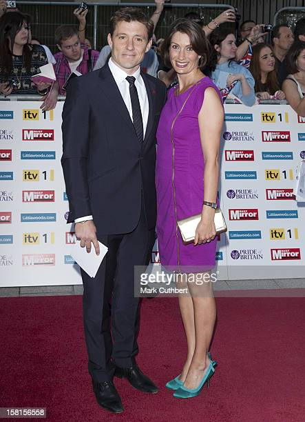 Ben Shephard And Annie Perks Arriving For The Pride Of Britain Awards At The Grosvenor House Hotel London