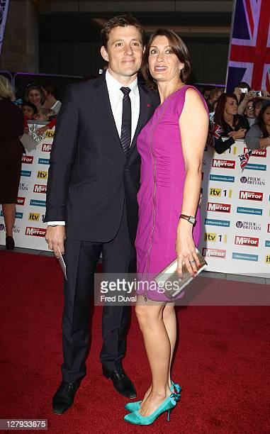 Ben Shephard and Annie Perks attends the Pride of Britain Awards at Grosvenor House on October 3 2011 in London England