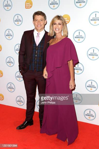 Ben Shephard and Kate Garraway attend the Good Morning Britain 1 Million Minutes Awards at Studio Works on January 23 2020 in London England