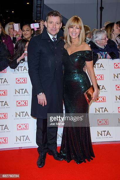 Ben Shephard and Kate Garraway attend the National Television Awards on January 25 2017 in London United Kingdom