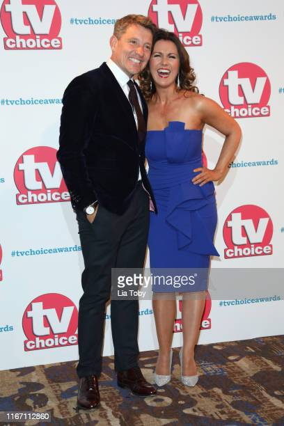 Ben Shephard and Susanna Reid attend The TV Choice Awards 2019 at Hilton Park Lane on September 9 2019 in London England