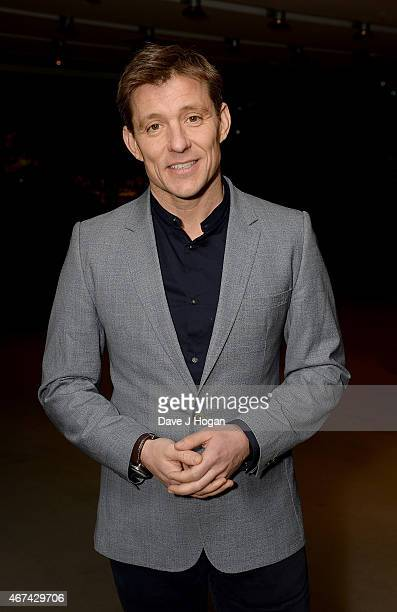 Ben Shephard attends the VIP night for the Northern Ballets rendition of 'The Great Gatsby' at Sadlers Wells Theatre on March 24 2015 in London...