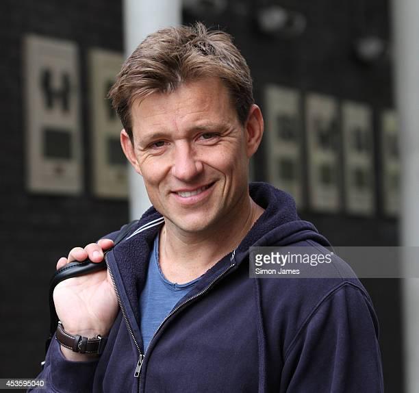 Ben Shephard seen leaving the ITV studios on August 14 2014 in London England
